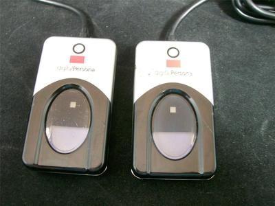 2 U.are.U 4500 DigitalPersona Fingerprint Reader Biometrics DEVICES ONLY Used