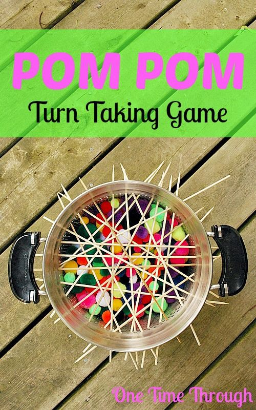 Fantastic DIY game for learning to take turns and for COUNTING practise for preschoolers!  {One Time Through}