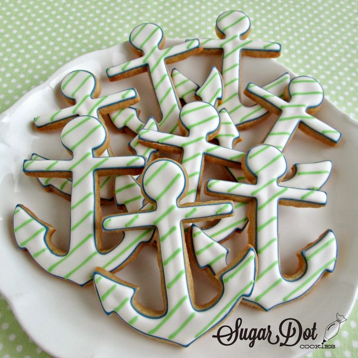 Sugar Dot Cookies: Anchor Sugar Cookies