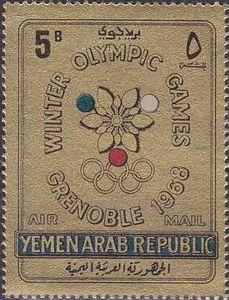 Emblem of the Winter Olympics 1968