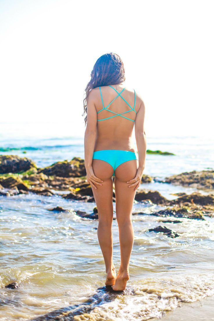 swimsuit girl ass butt behind