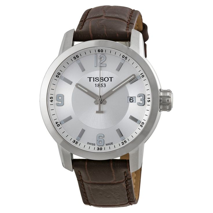 Watch Direct - TISSOT PRC200 LEATHER STRAP MEN'S WATCH, $485.00 (https://watchdirect.com.au/tissot-prc200-leather-strap-Mens-watch.html)