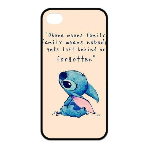 Lilo and stitch quote cute disney iphone case