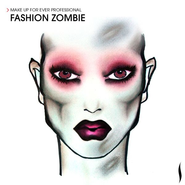 fashion zombie sephora sephoraween gonna need this for the monster ball 5k - Zombie Halloween Faces