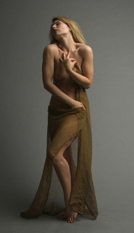 Female study models figure nude