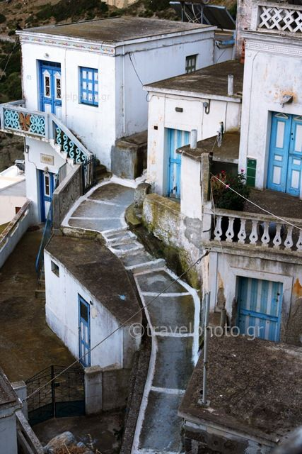 Olympos traditional village in Karpathos Island_ Greece