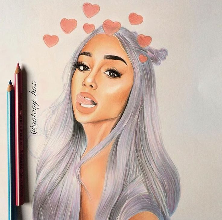 Ariana Grande Drawing Tumblr