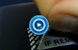 Asset Management Label