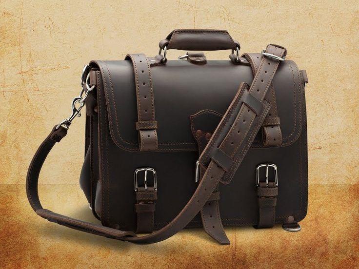 Maletín vintage de Saddleback Leather - Monkeyzen