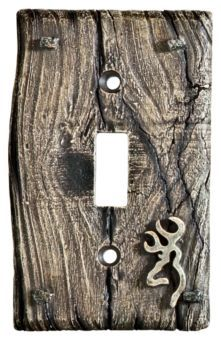 Browning® Room Accessories - Single Toggle Switchplate | Bass Pro Shops $9