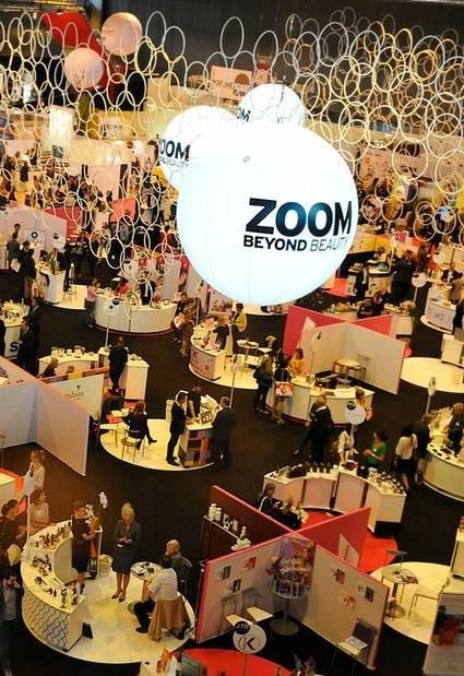 The beautiful ZOOM area on the COSMEETING Paris tradeshow, dedicated to beauty emerging brands !