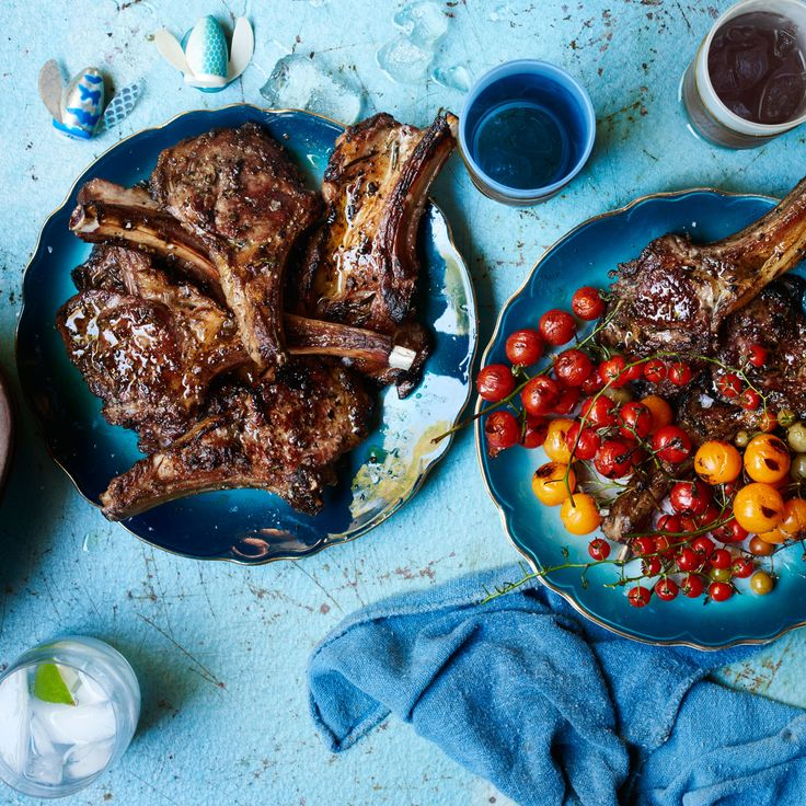 Rib chops can be pricey. This same preparation works well on lamb loin chops, too.