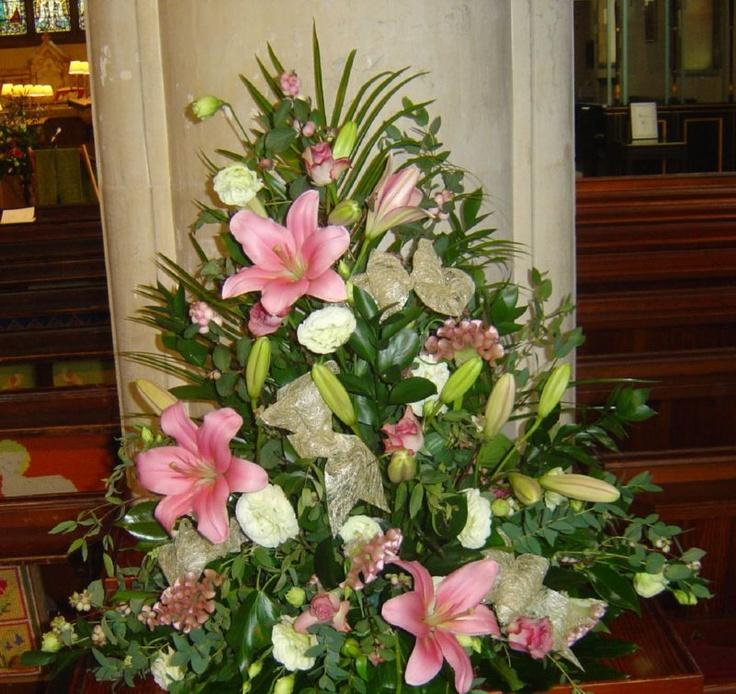 Flower Arrangements For Church Sanctuary: 299 Best Images About Church Flowers On Pinterest