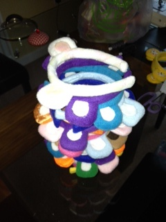 How about some Care Bear ears. Easy to make and look great!