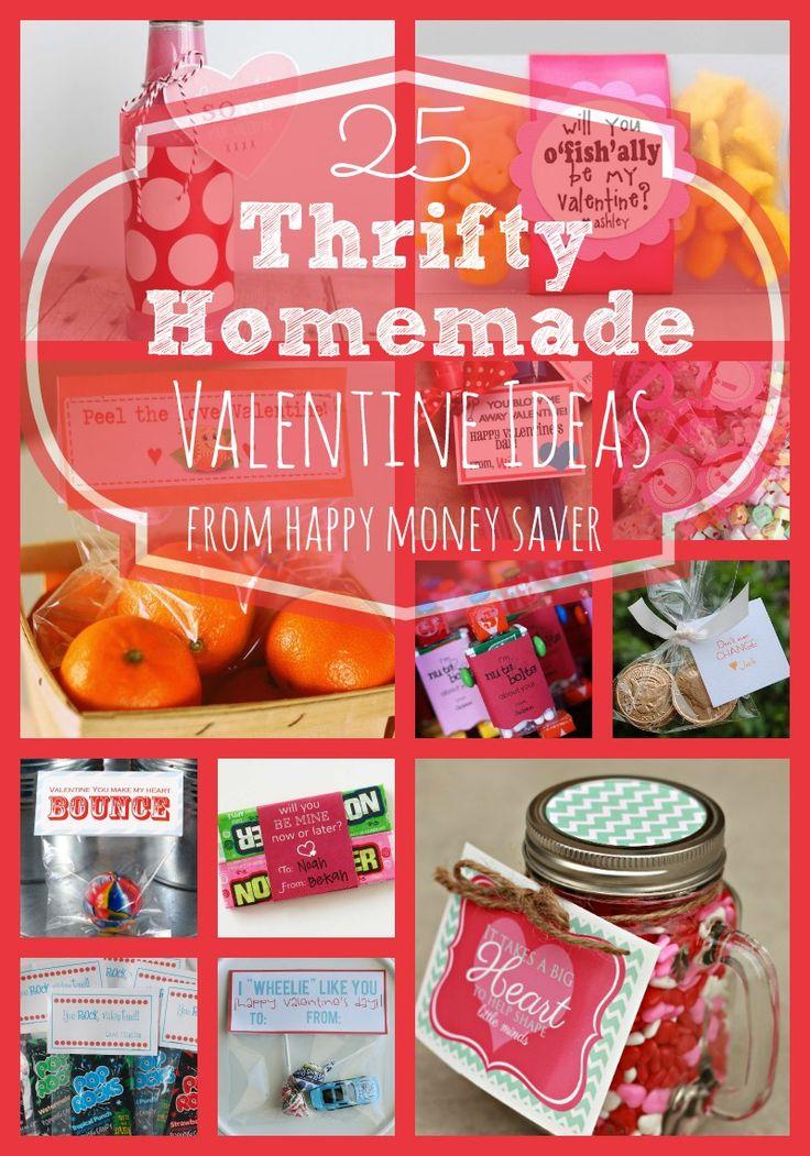 25 Thrifty Homemade Valentine Ideas