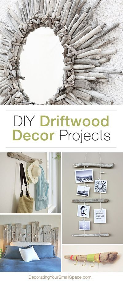 DIY Driftwood Decor • Ideas and Projects with Tutorials!