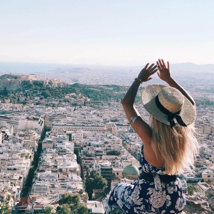 Lykabettus mount Athens #view