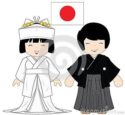 Traje tradicional de Japón