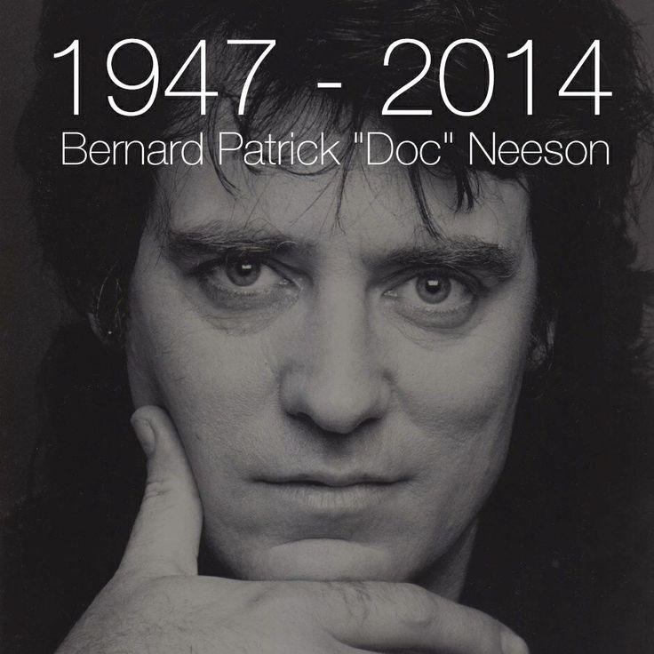 Aussie rock legend,lead singer of the Angels,Vale Doc Neeson.