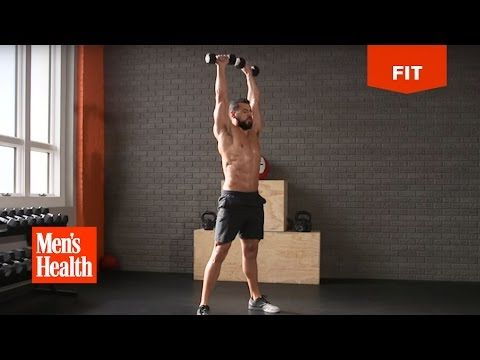 The Lightweight Leanout Workout from the Men's Health 21-Day MetaShred DVD - YouTube