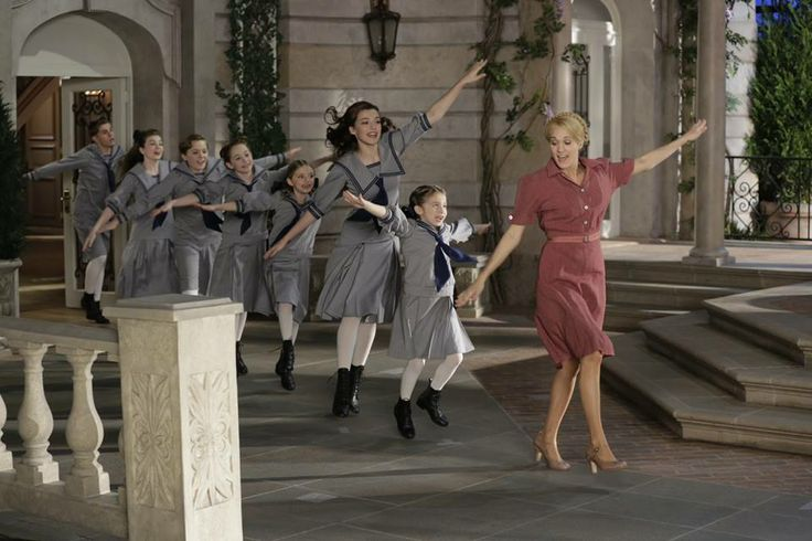 Doe a dear... Carrie Underwood for Sound of Music Live With MAM Actor Sophia Anne Caruso as Brigitta