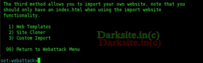 Hack Facebook |G-Mail | Yahoo| Orkut Account Id Using Backtrack 5 Operating System ~ .:: Dark Site ::.