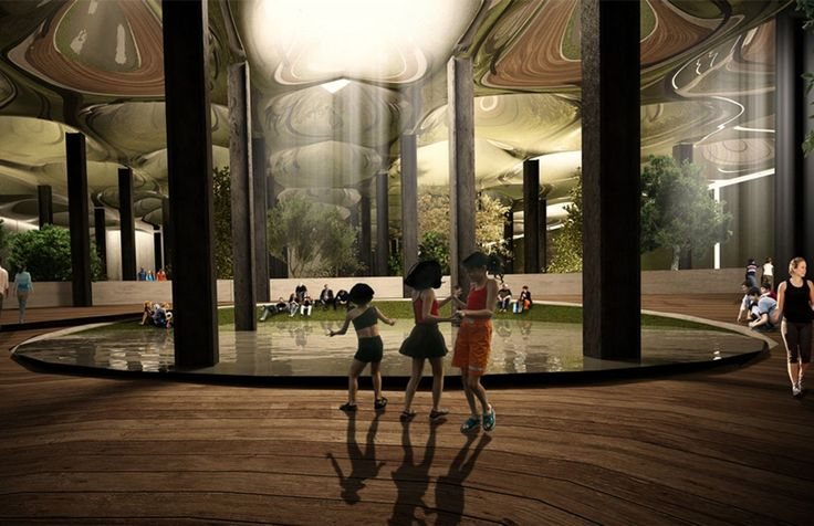 Underground park in NYC will bring the sun where it don't shine //