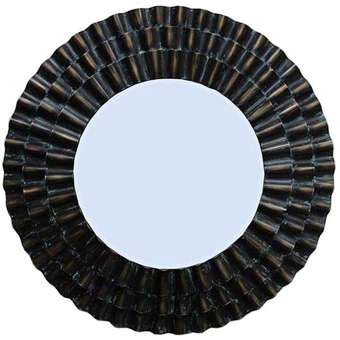Abraham Round Oversized Wall Mirror & Reviews | Joss & Main