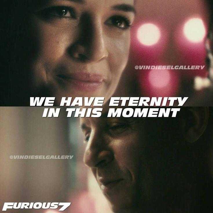 """Vin Diesel Stills @vindieselgallery - """"We have eternity in this...Yooying"""
