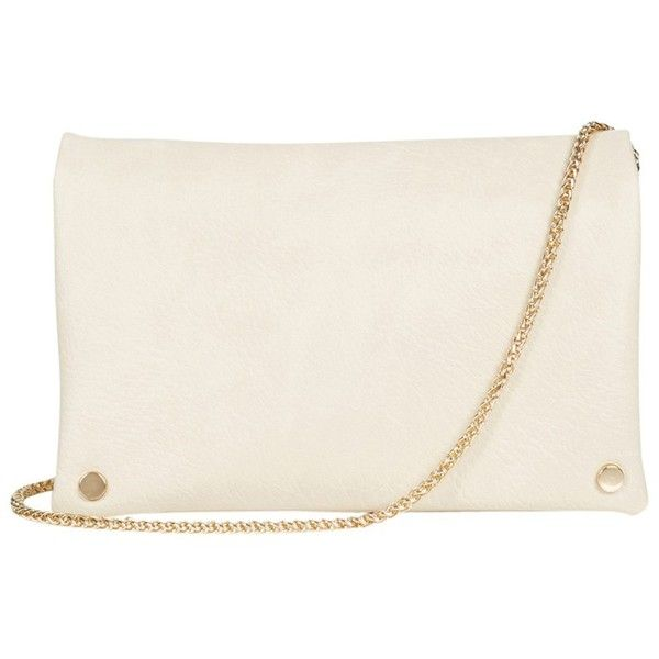 Oasis Penelope Cross Body Bag , Cream (£16) ❤ liked on Polyvore featuring bags, handbags, shoulder bags, cream, cross body, white shoulder bag, cream handbag, cream purse and white cross body handbag