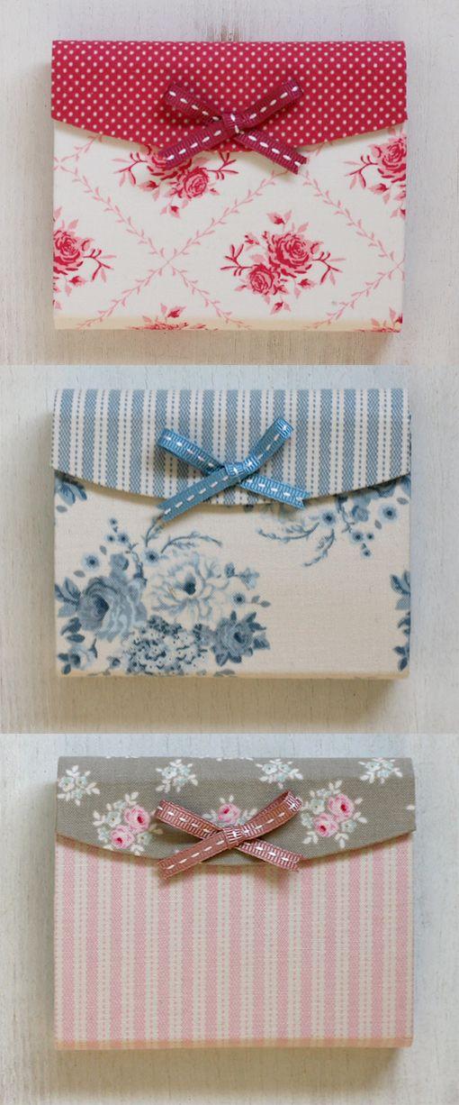 card gift enevelope #tilda #tildacard - porte-cartes Tilda papercraft and paper design