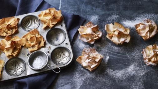 A lighter take on mince pies but these moreish treats are still packed full of festive cheer.
