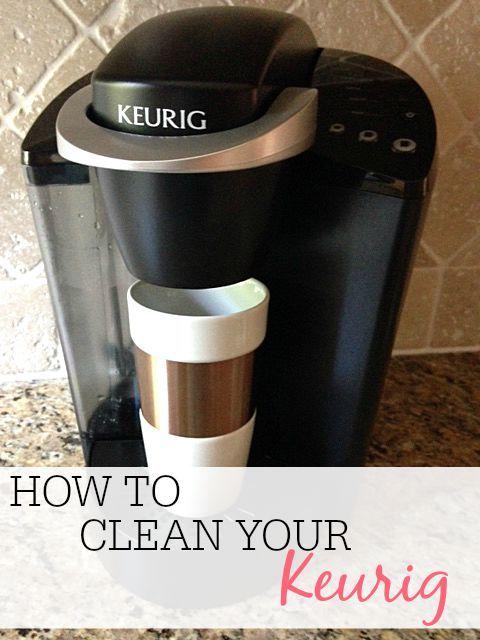 Cuisinart Coffee Maker Funny Taste : 17 Best ideas about Keurig Cleaning on Pinterest Descale keurig, Keurig and Deep cleaning