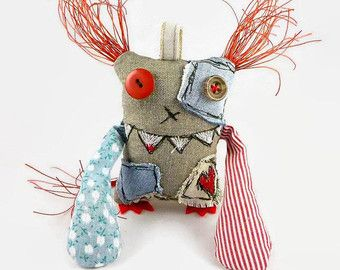 Personalized Monster Doll Monster Toy Unusual Gift Cool