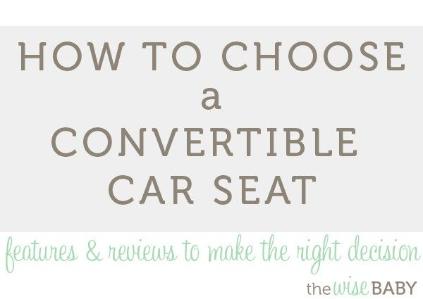 how to choose baby car seat
