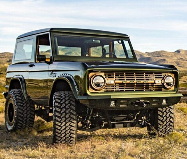 Ford Bronco. Check out Facebook and Instagram: @metalroadstudio Very cool!
