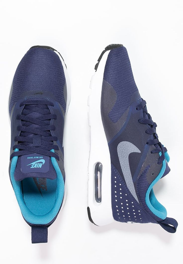Nike Sportswear AIR MAX TAVAS - Sneakers laag - pure platinum/game royal/cool grey - Zalando.nl
