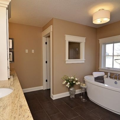 Wall color sherwin williams sw 7719 fresco cream for for Southwest bathroom paint colors