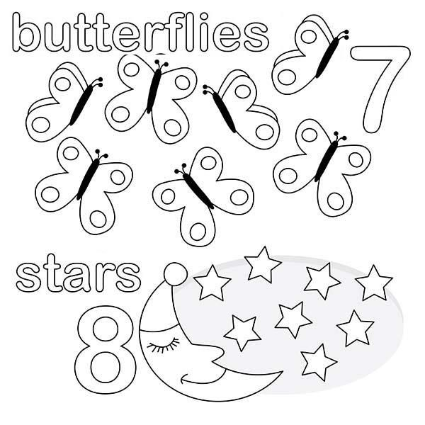 Read Morekindergarden Kids Learn Number 8 Coloring Page Coloring