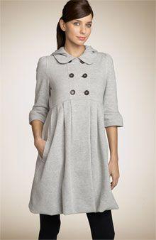 The Look 4 Less: Juicy Couture Empire Waist Hooded Fleece Coat