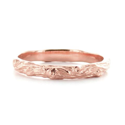 ADORE STACKING RING & PENDANT ROSE GOLD – So Pretty Cara Cotter