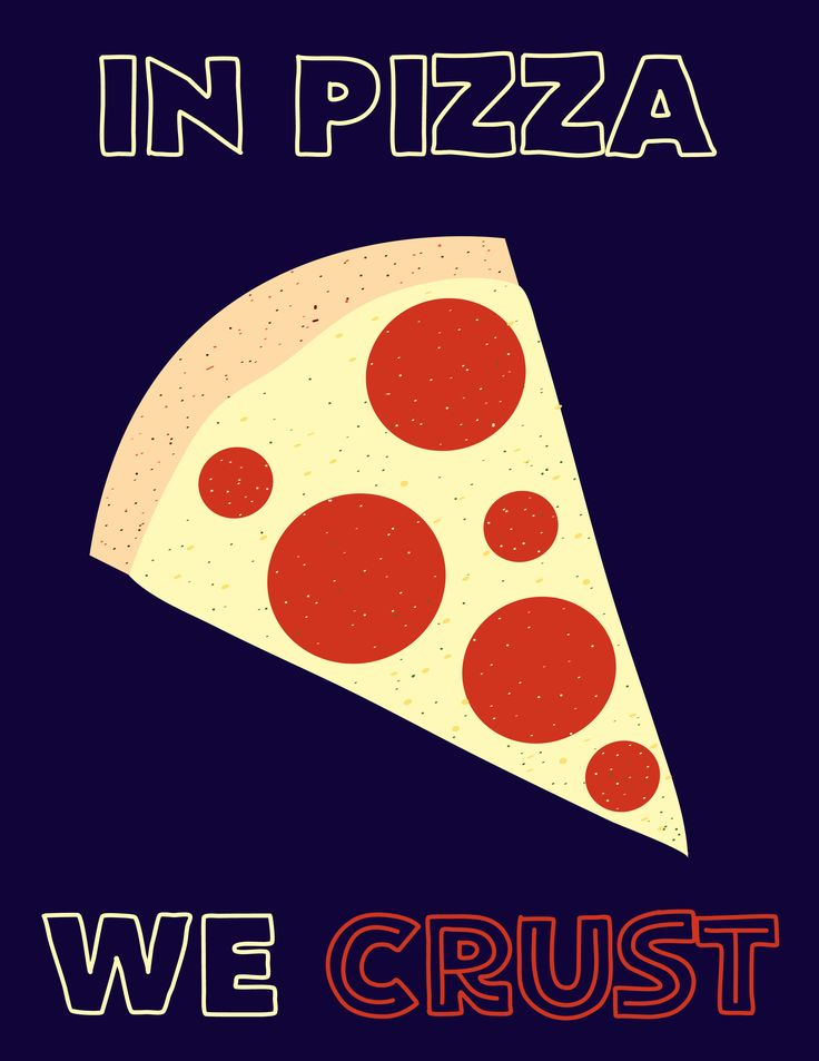 FREE Instant Download Printable! Perfect pizza pun print for your kitchen!                                                                                                                                                     More