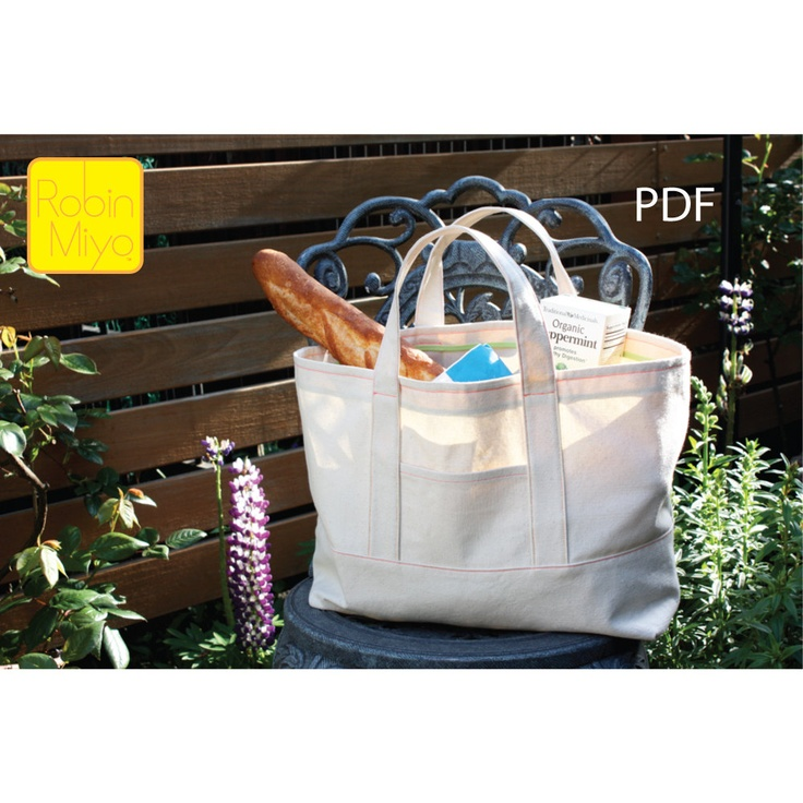 The Classic Tote -3 Sizes- PDF