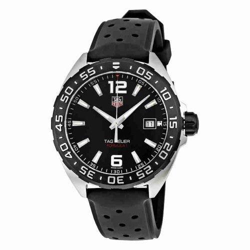 Tag Heuer Men's WAZ1110.FT8023 Formula 1 Rubber Watch, 41mm