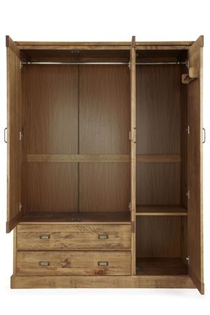 Buy Shoreditch® Triple Wardrobe from the Next UK online shop