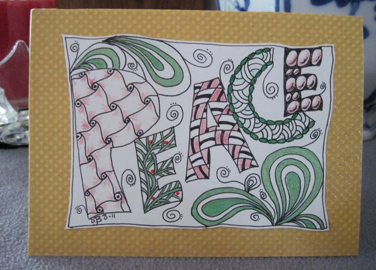 49 best zentangle cards images on pinterest doodles patterns and
