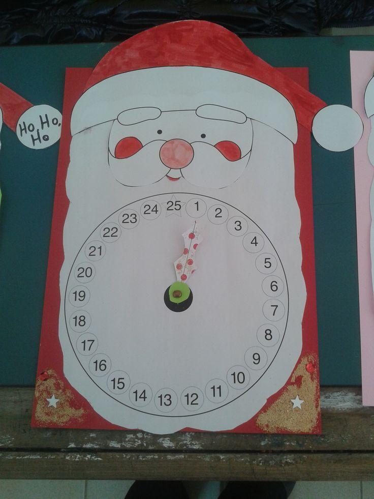 Χριστουγεννιάτικο ημερολόγιο αντίστροφης μέτρησης!