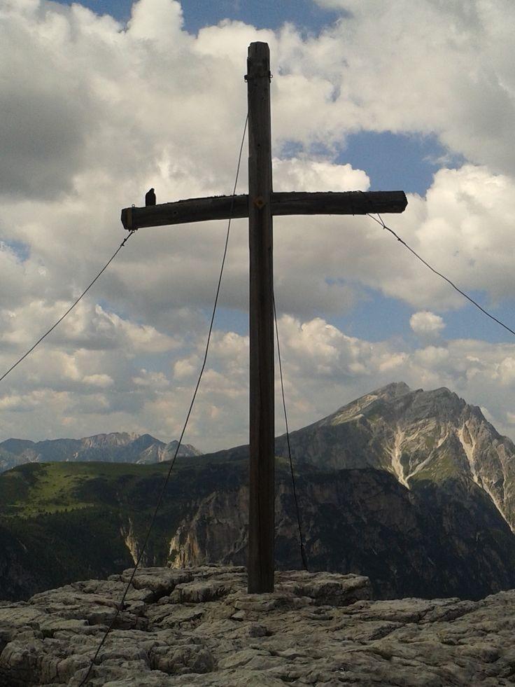 In cima al monte Piana, Auronzo-Misurina (Bl)