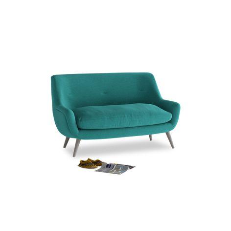 Small Berlin Sofa in Ocean Vintage Linen