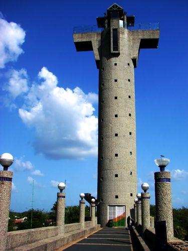 Torre del Caballero, Villahermosa, Tabasco, México.
